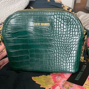 NWT Hunter Green Steve Madden Bag